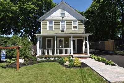 Huntington Single Family Home For Sale: 9 Tuthill St