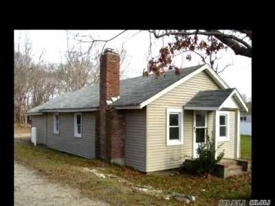 Center Moriches Single Family Home For Sale: 149 Frowein Rd