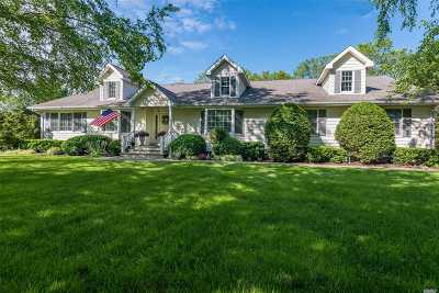 Cutchogue Single Family Home For Sale: 1940 Crown Land Ln