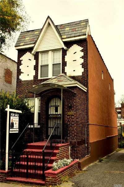 Single Family Home For Sale: 30-09 84th St