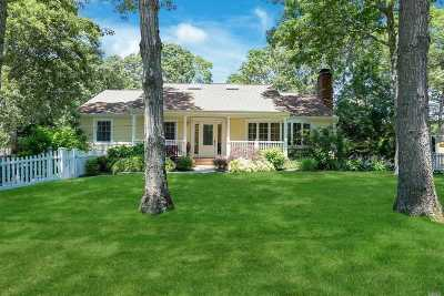 Hampton Bays Single Family Home For Sale: 16 Rolling Hill Rd