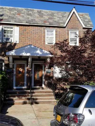 Flushing Single Family Home For Sale: 34-28 Jordan St