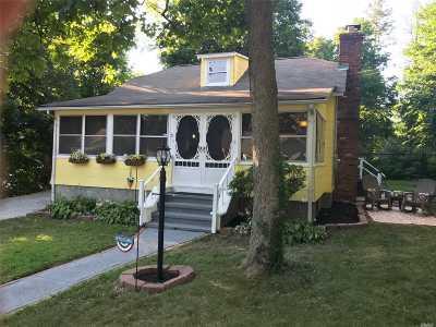 Sound Beach Single Family Home For Sale: 5 Canoe Rd