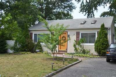 Centereach Single Family Home For Sale: 5 Chestnut St