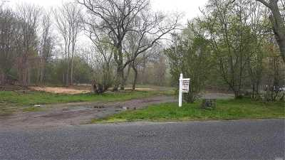 East Moriches Residential Lots & Land For Sale: 5 Bay Ave