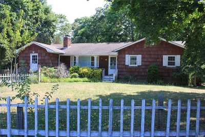 Hampton Bays Single Family Home For Sale: 85 Ponquogue Ave