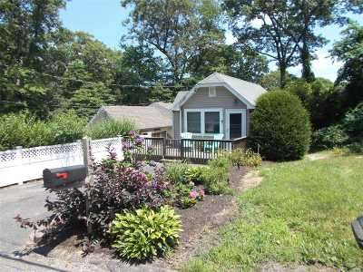 Sound Beach Single Family Home For Sale: 15 B Sea Cliff Dr
