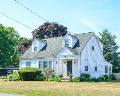 Cutchogue Single Family Home For Sale: 805 Cox Ln