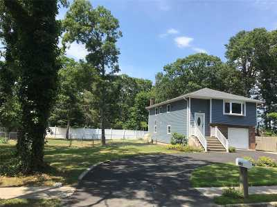 Ronkonkoma Single Family Home For Sale: 493 Peconic St