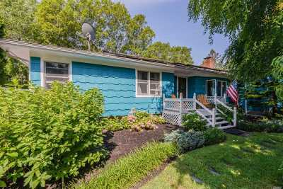 Hampton Bays Single Family Home For Sale: 15 Hubbard Ln