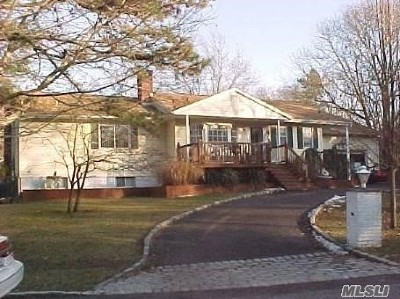 Manorville Single Family Home For Sale: 1 Wright Rd