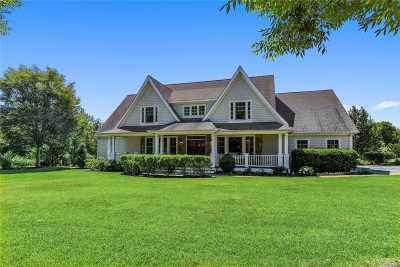 Mattituck Single Family Home For Sale: 2655 Stanley Rd