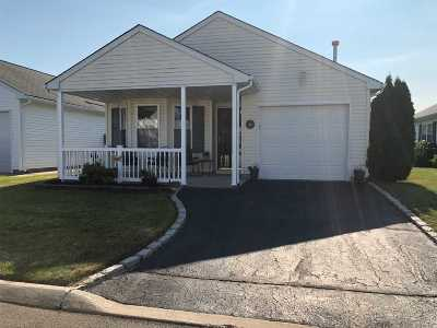 Center Moriches Condo/Townhouse For Sale: 3 Orange Tree Ct