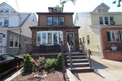 Ozone Park Single Family Home For Sale: 137-32 94th St