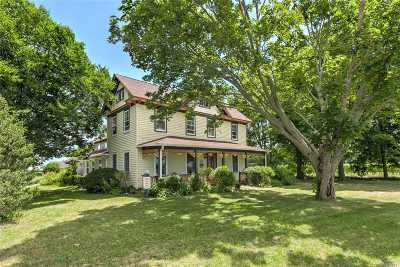 Cutchogue Single Family Home For Sale: 25000 County Road 48