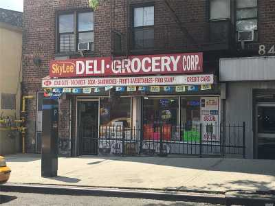 Queens County Business Opportunity For Sale: 84-11 Elmhurst Ave