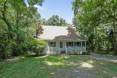 Sag Harbor Single Family Home For Sale: 1253 Brick Kiln Rd