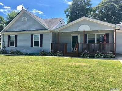Selden Single Family Home For Sale: 4 Oakmont Ave