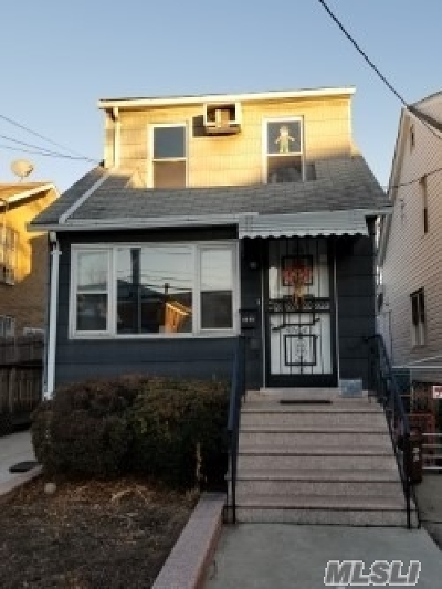 Flushing Single Family Home For Sale: 59-05 136th
