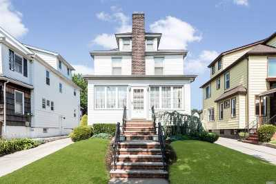 Flushing Single Family Home For Sale: 41-12 169th St