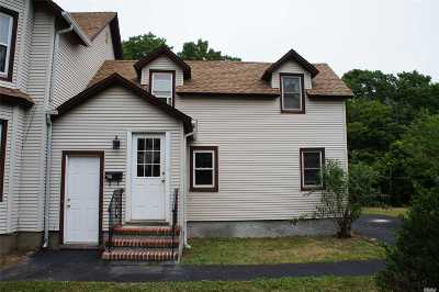 Center Moriches Rental For Rent: 51 Railroad Ave #Lower