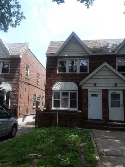 Ozone Park Single Family Home For Sale: 133-15 84th St