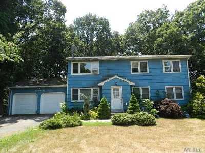 Ronkonkoma Single Family Home For Sale: 242 Springdale Dr