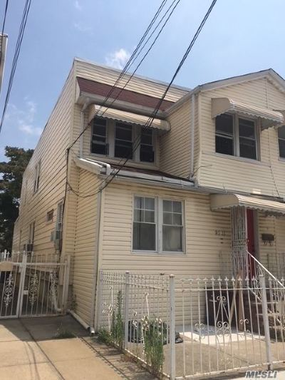 Ozone Park Multi Family Home For Sale: 95-15 77 St