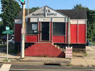 Suffolk County Commercial For Sale: 764 Sunrise Hwy