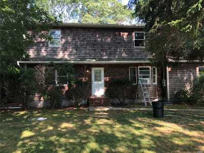 Center Moriches Single Family Home For Sale: 172 Belleview Ave