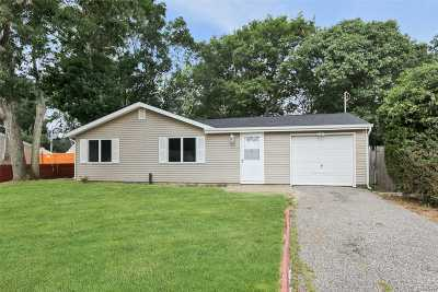 Selden Single Family Home For Sale: 22 Riviera Dr
