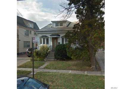 Flushing Single Family Home For Sale: 143-21 Quince Ave