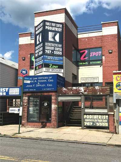 Queens County Commercial For Sale: 12-55 150th St