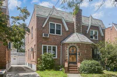 Rego Park Single Family Home For Sale: 68-42 Alderton St