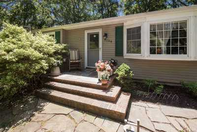 Cutchogue Single Family Home For Sale: 3130 Wunneweta Rd