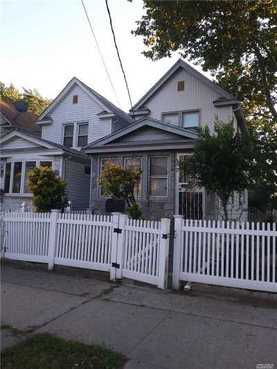 Jamaica Single Family Home For Sale: 119-02 146th St