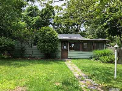 Rocky Point Single Family Home For Sale: 95 Cherry Rd