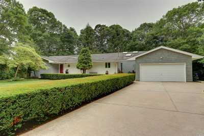 Moriches Single Family Home For Sale: 8 Foster Ct