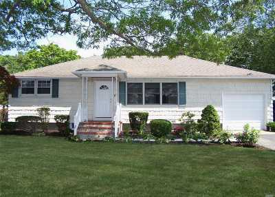 Patchogue Single Family Home For Sale: 57 Richmond Ave