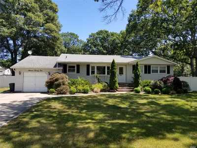 Ronkonkoma Single Family Home For Sale: 1125 Terry Rd
