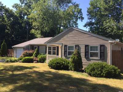 Setauket NY Single Family Home For Sale: $299,900