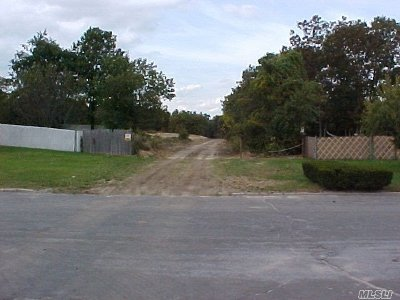 Holtsville Residential Lots & Land For Sale: 3 Lots 12th Ave