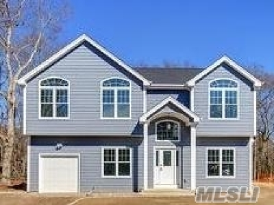 East Moriches Single Family Home For Sale: Culver Ln