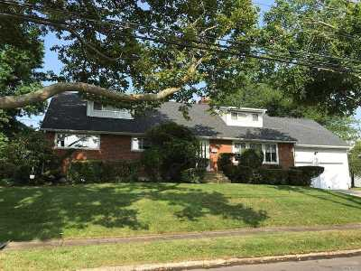 Massapequa Park Single Family Home For Sale: 118 Thornwood Rd