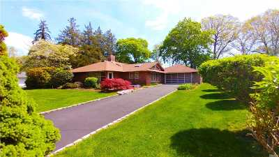 Roslyn Heights Single Family Home For Sale: 118 Schoolhouse Ln