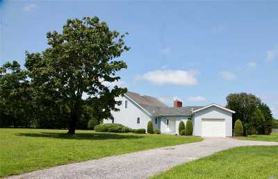 Remsenburg Single Family Home For Sale: 1 Old Mill Ln