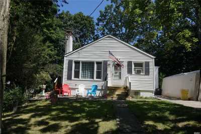 Rocky Point Single Family Home For Sale: 147 Hickory Rd