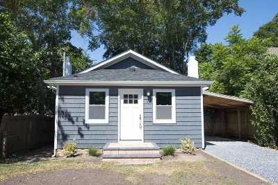 Sound Beach Single Family Home For Sale: 80 Halesite Dr