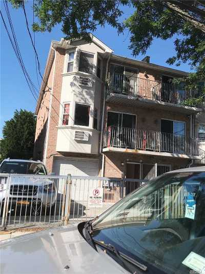 Ozone Park Multi Family Home For Sale: 88-45 Pitkin Ave
