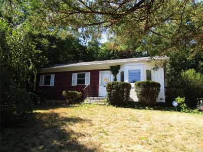 Jamesport Single Family Home For Sale: 20 N. Railroad Ave
